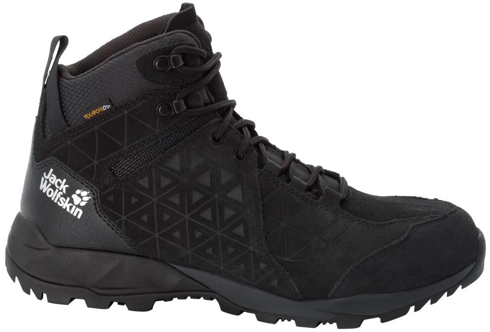 Jack Wolfskin Cascade Hike LT Texapore Scarpe Uomo, black/phantom (2020) 1233138 SPBKt